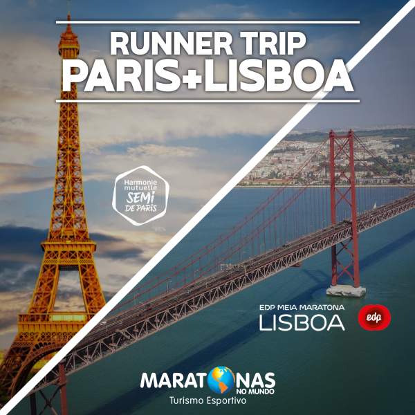 Runner Trip - Paris + Lisboa